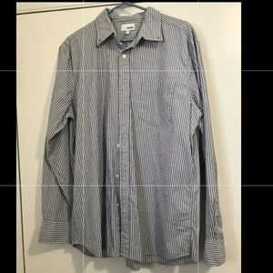 Like New Sonoma Men's Striped Dress Shirt